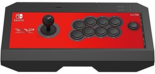 HORI Nintendo Switch Real Arcade Pro V Hayabusa Fight Stick Officially Licensed by Nintendo – Nintendo Switch;