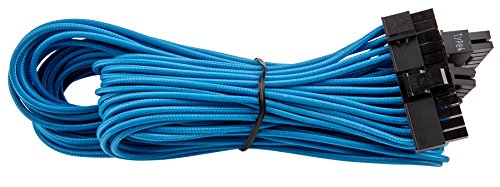 Corsair CP-8920154 Premium PSU Cable Kit. Individually Sleeved Cables, Pro Package, Blue, for Corsair PSUs