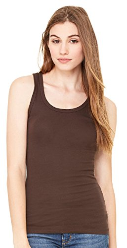 8780 Bella Ladies' Rachel Sheer Rib Tank Top
