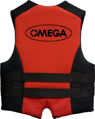 Omega 40502-2X Type III Extreme Sport Neoprene Life Vest (Red, XX-Large)