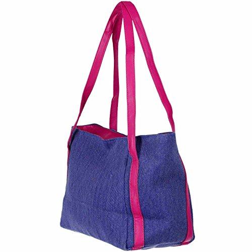 Antonio Damentasche Jeans lila