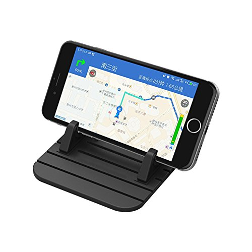 HaloVa Car Phone Holder, Universal Car Dashboard Phone Mount Holder Desktop Stand, Super Handy Skidproof Car Pad Mat for iPhone X 8/8 Plus, Sumsang Galaxy S8 Note 8, etc. - Mount Dash Skid