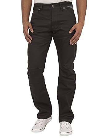 Enzo Mens Jeans EZ329 BLK 28S