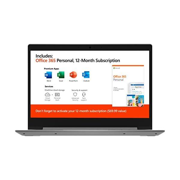 Lenovo IdeaPad 14-inch HD WLED AMD A6-9229e 4GB 64GB eMMC Win 10 Laptop (Platinum Gray)