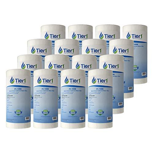 Tier1 Replacement for Pentek DGD-5005 5 Micron 10 x 4.5 Spun Wound Polypropylene Sediment Water Filter 16 -