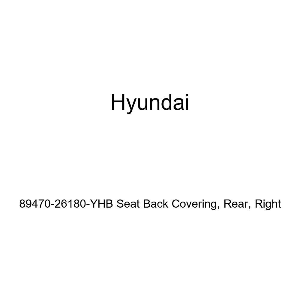Right Genuine Hyundai 89470-26180-YHB Seat Back Covering Rear