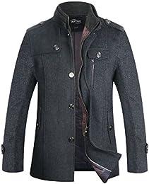 Amazon.com: Grey - Wool & Blends / Jackets & Coats: Clothing