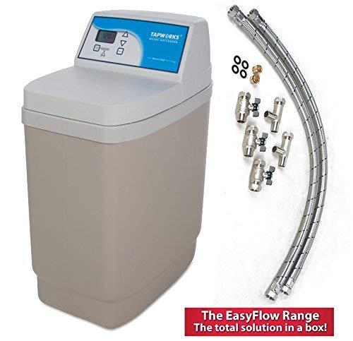 Tapworks AD11 Water Softener Meter Controlled Includes Full Installation Kit- 37 Kg salt storage capacity.