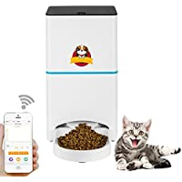 Abdtech Automatic Cat/Dog Feeder-2.4G Wifi Programmable Pet Feeder