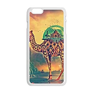 Artistic imaginary camel Cell Phone Case for iPhone plus 6