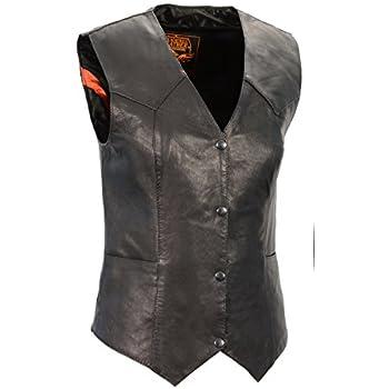 Milwaukee Leather KidsPlain Vest Black, 4X-Large