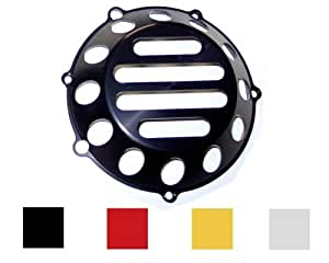 .com: TPO Parts Ducati Dry Clutch Cover - Corsa - Black: Automotive