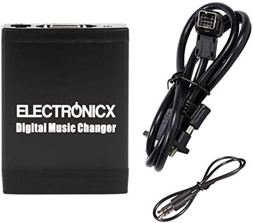 Elec M06 Clar Adapter Für Usb Sd Aux Für Clarion Ce Net Autoradio Cd Wechsler Mp3 Player Audio Stereo Auto