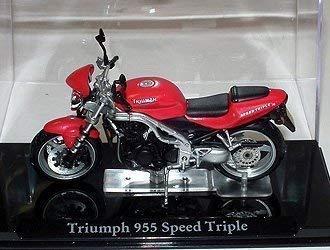 Ex Mag Triumph 955 Speed Triple Diecast Modelo Motocicleta