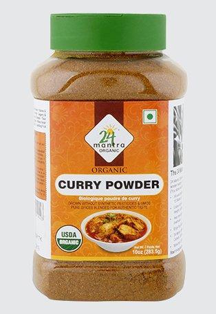 Organic Curry Powder, USDA Certified Organic , Pesticides Free - 10 Ounces - 24 Mantra Organic by 24 Mantra Organic