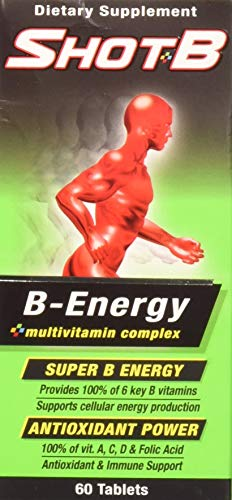 Shot B Energy Multivitamin, 60 Count