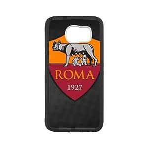 As Roma Logo Samsung Galaxy S6 Cell Phone Case White SP1290462
