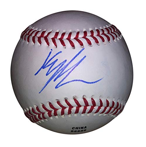 Seattle Mariners Kyle Lewis Autographed Hand Signed Baseball with Proof Photo of Signing and -