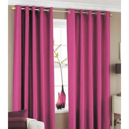 Bedroom Curtains On Amazon Small Bedroom Ideas Nyc Chalkboard Art Bedroom Bedroom Sets For Girls: Pink Curtains For Bedroom: Amazon.co.uk