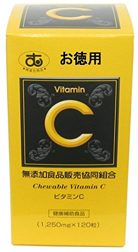 ビタミンC お徳用 (1,250mg×320粒 400g) B07CK1VDTW