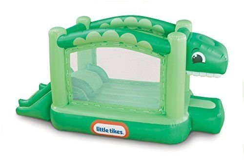 Little Tikes Dino BOUNCER, Outdoor Heavy Duty Kids INFLAT...