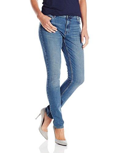 Wrangler Authentics Women's Mid Rise Skinny Jean, Castaway, 12