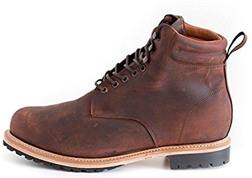 Wilcox Boots | Classic Style + Premium Comfort Shiloh Rust Brown-9.5