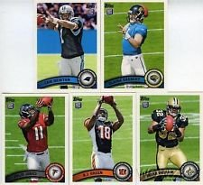 2011 Topps Football 5 Card Rookie Variation Pack From Fac...