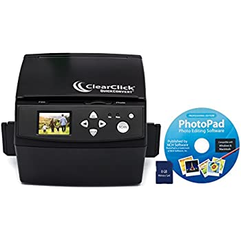 .com: clearclick 20 mp quickconvert po, slide, and 35mm ...
