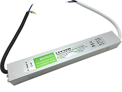Decorative Lighting Led Driver - Pearlight DC 12v adapter,LED Power Supply Driver Transformer IP67 Waterproof 30w Suitable for LED lighting LED Strip Light ,LED Module and Power Accessories