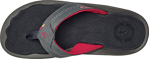 Shadow OluKai Kipi Men's Flip Flop Dark x6XBxw