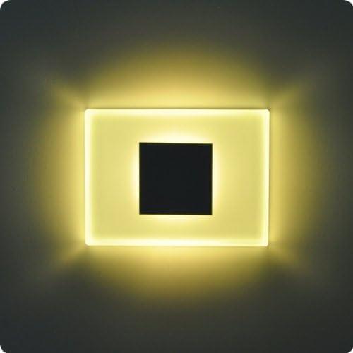 Juego de 4/sun-led luces de pared Focos LED para Escaleras, escalera, Pasillo, luz blanca