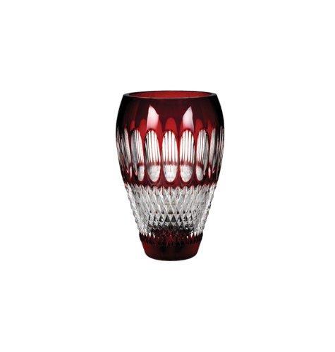 Colleen Vase - WATERFORD COLLEEN Vase ruby 8