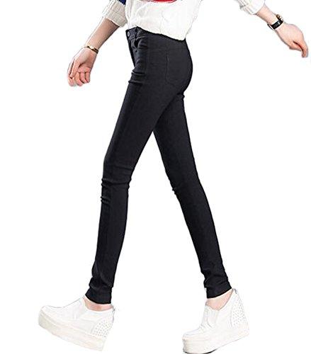 Survtement Taille Tiss Schage Jambires Rapide Serr Diluant Leggings Jogger Yoga Push Pilates Noir MILEEO Stretch Skinny Femme Haute Up Pantalon 6wn4z