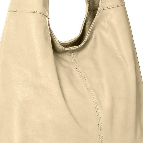 Nappa Cream Womens many Shoulder made Shopper Tote CASPAR Handbag Bag Soft TL610 Leather colours from 6naxwpzBf