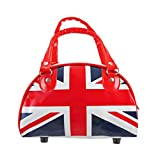 United Kingdom British Union Jack Mini Bowling Bag Purse