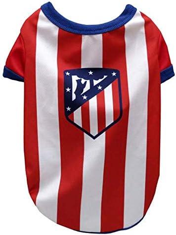 Atletico de Madrid SH-01L-ATL Camiseta para Perros Talla L: Amazon.es: Productos para mascotas