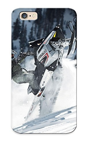 (nltacc-624-jhbhwfe)durable Protection Case Cover With Design For Iphone 6(polaris Rmk Assault Snowmobile Winter Sled - Cover Rmk