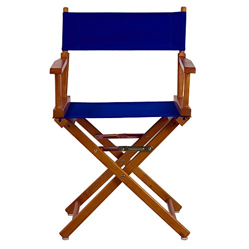 Casual-Home-18-Inch-Director-Chair-Honey-Oak-Frame-Royal-Blue-Canvas