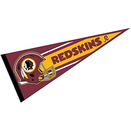 WinCraft Washington Redskins Official NFL 30 inch Large Pennant -