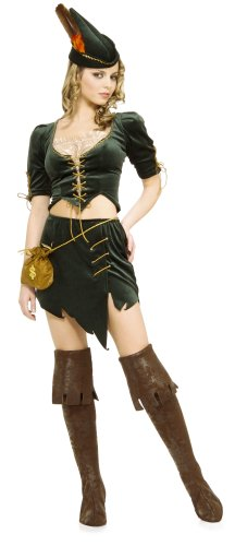 Secret Wishes Women's Princess Of Thieves Sassy Adult