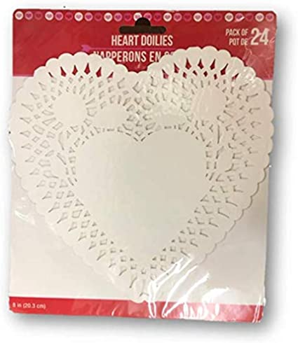 wedding decor 28 3 12 white heart lace paper doilies gift wrap packaging scrapbooking card making doily mixed media embellishments