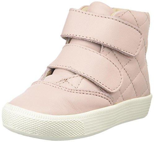 Powder Pink Kids Shoes (Old Soles Girls Quilted Space High Top (Toddler/Little Kid/Big Kid), Powder Pink, 22 EU(6 M US Big)