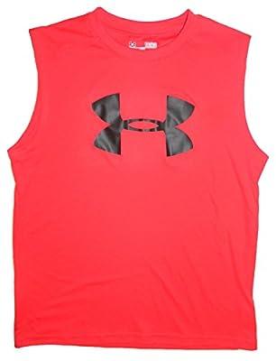 Under Armour Boy's Big Logo Sleeveless Shirt