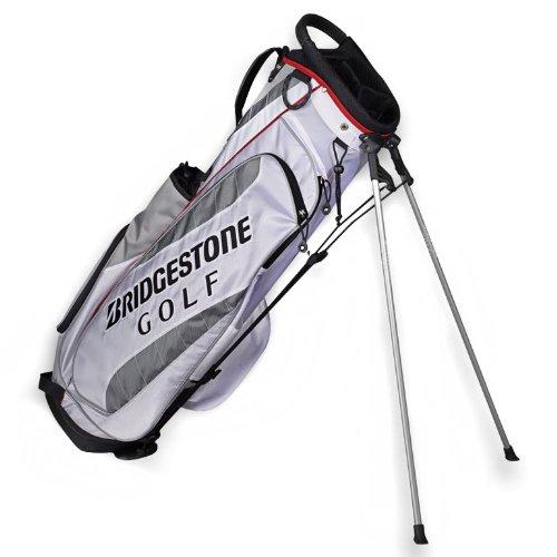 Bridgestone Golf bolsa de soporte ligero - LWSWG, Blanco ...