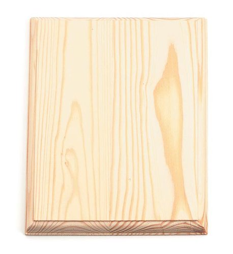 Darice 9176-29 Wood Rectangle Plaque (Plaque Craft Unfinished)