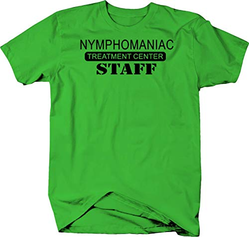 Novelty Inc Nymphomaniac Nympho Treatment Center Staff Color Tshirt - XLarge -