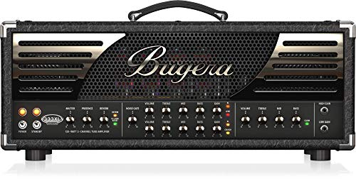 - Bugera 333XL INFINIUM Hardcore 120-Watt 3-Channel Tube Amplifier Head with Reverb and INFINIUM Tube Life Multiplier