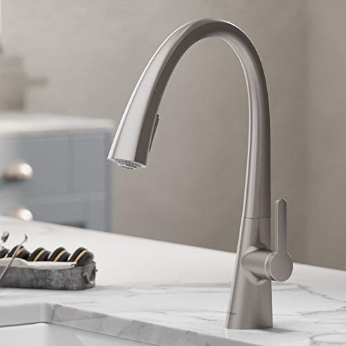 Kraus KPF-1673SFS Nolen Kitchen Faucet, Spot Free Stainless Steel