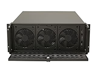 Rosewill 4U Server Chassis/Server Case/Rackmount Case, Metal Rack Mount Computer Case support with 15 bays & 7 Fans Pre-Installed (B0091IZ1ZG) | Amazon price tracker / tracking, Amazon price history charts, Amazon price watches, Amazon price drop alerts